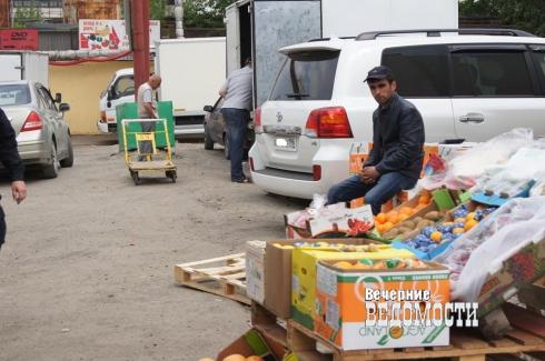 Торговцы екатеринбургской овощебазы живут в ожидании «шторма»
