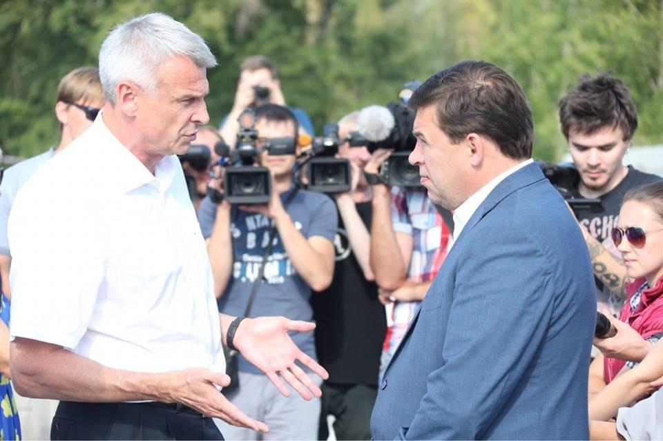 Евгений Куйвашев иСергей Носов обсудили результаты комплексного развития Нижнего Тагила