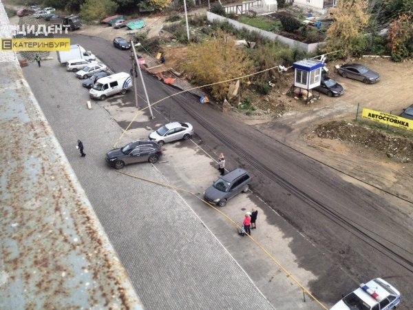В итоге ДТП наулице Рощинской сегодня снесена газовая труба