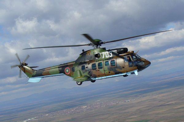 Наперевале Сен-Готтард упал швейцарский военный вертолет