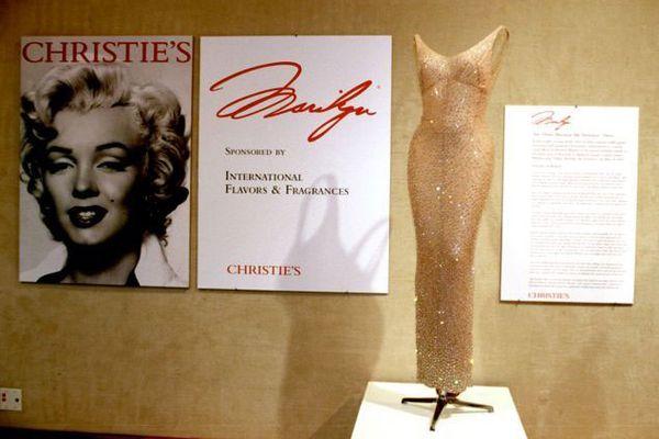 Легендарное одеяние Мерилин Монро сдня рождения Кеннеди продали нааукционе