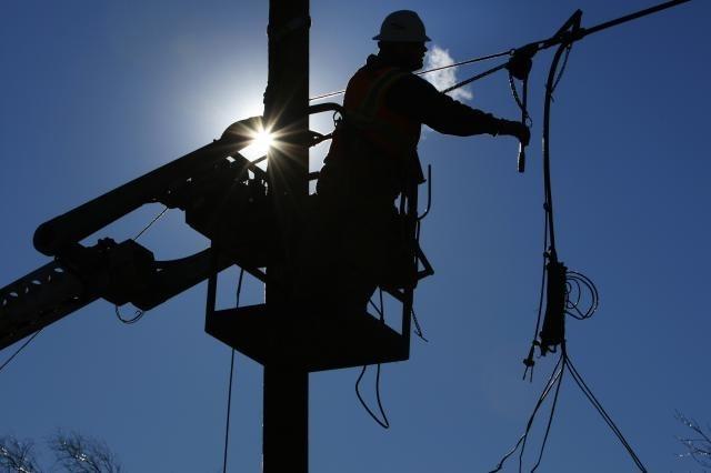 Авария наэлектросетях оставила часть Екатеринбурга без света