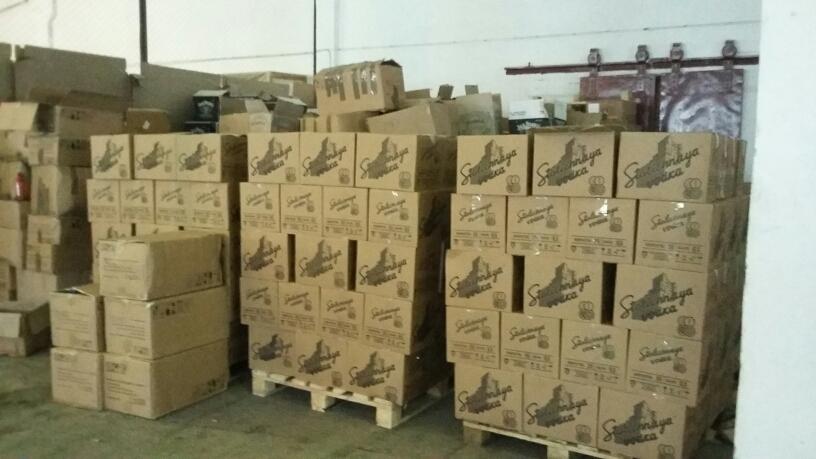 ВЗаречном изъяли около 5 тыс. бутылок фальсифицированного алкоголя