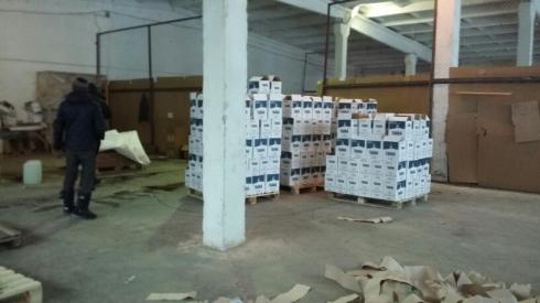 Цех попроизводству суррогатного алкоголя найден наУрале