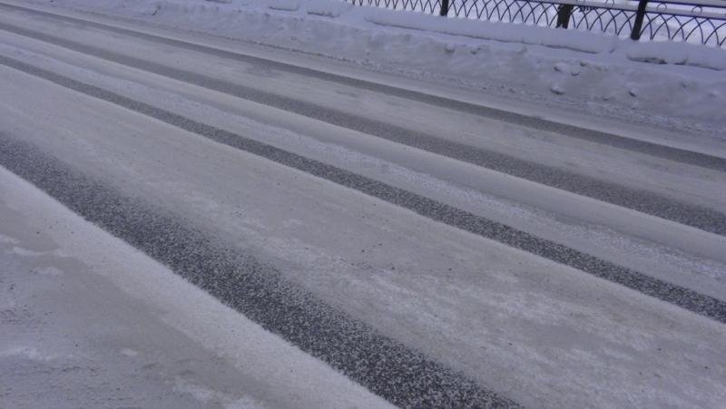 ВГИБДД сообщили оплохой расчистке дорог вЕкатеринбурге после снегопада