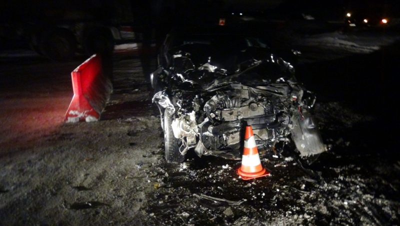 НаЕКАД столкнулись ПАЗ и«Хёндай»; пострадали два человека