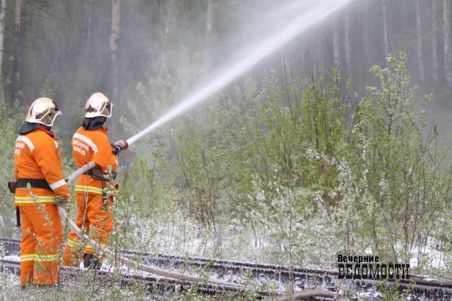 Впожаре вСвердловской области умер 3-х летний сын