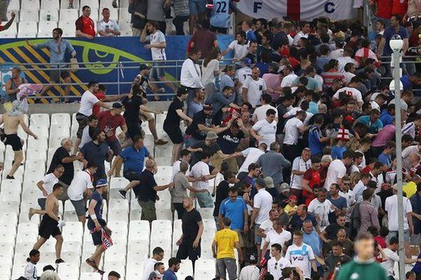 BBC продемонстрировал документальный фильм и русских футбольных фанатах