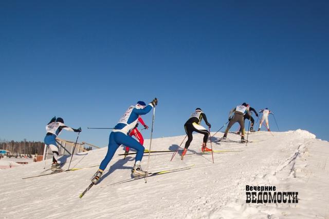 «Лыжня России»: финишировало уже 15 тыс. человек