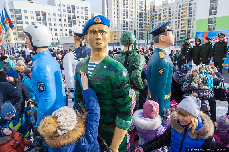 ВАкадемическом завтра откроют скульптурную группу вчесть Вооруженных сил Российской Федерации