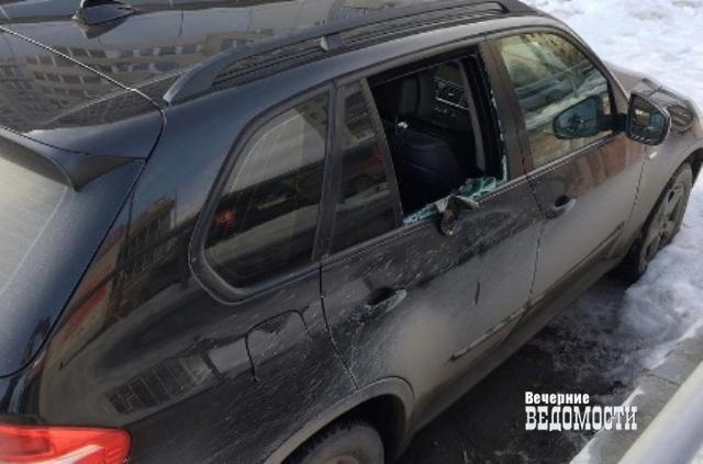 Машину олимпийца Лобинцева разбили иобокрали вЕкатеринбурге