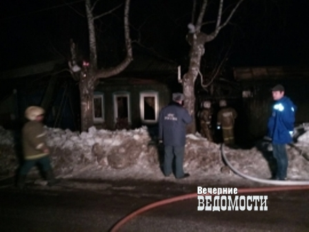 4 человека сгорели в личном доме наСреднем Урале