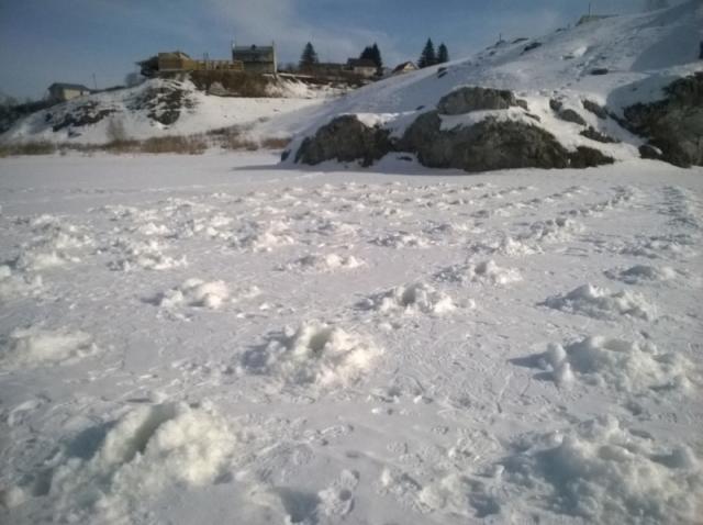 ВСвердловской области начали взрывать лёд, чтобы избежать паводка