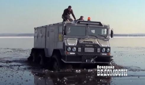 Уральский вездеход «Бурлак» готов к штурму Северного полюса
