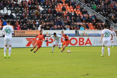 Победу над «Рубином» футболистам «Урала» принес один удар головой