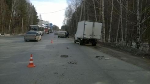 В Екатеринбурге четырехлетний мальчик стал жертвой зазевавшегося водителя