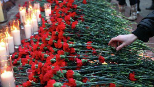 Акцию против терроризма вЕкатеринбурге перенесли сплощади Труда наШирокореченский мемориал