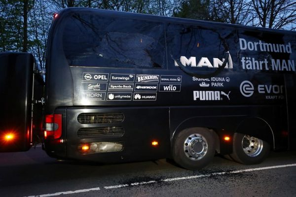 Милиция  Германии заподозрила вовзрывах уавтобуса «Боруссии» жителя России