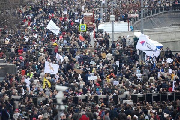 Столичная мэрия отказалась согласовать шествие оппозиции 6мая доБолотной площади