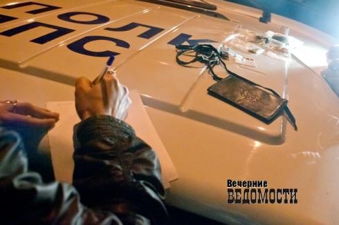 На Урале пьяного угонщика схватили на месте преступления