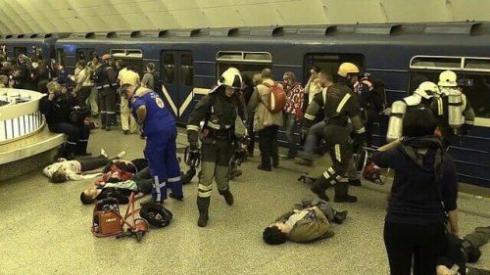 Взрыв в питерском метро. Хронология событий