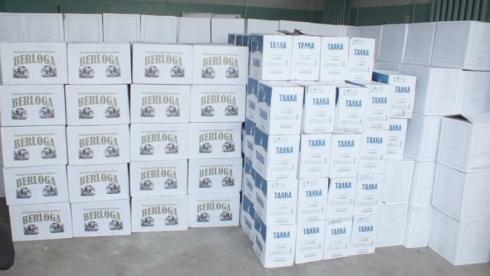 В Зауралье полиция изъяла из нелегального оборота более 11 тысяч литров алкоголя с признаками контрафакта