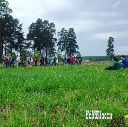 Екатеринбуржцы испытали себя в «Майской прогулке» (ФОТО)