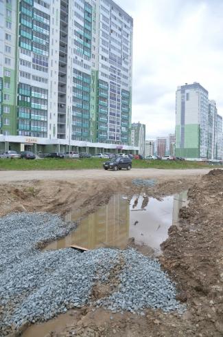 В Парковом-2 построят две новые дороги