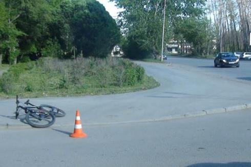 В Екатеринбурге «Лада» задавила мальчика на велосипеде