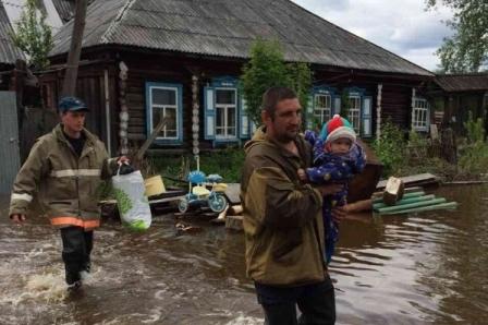 Шестнадцать жилых домов подтоплены вСвердловской области из-за проливных дождей