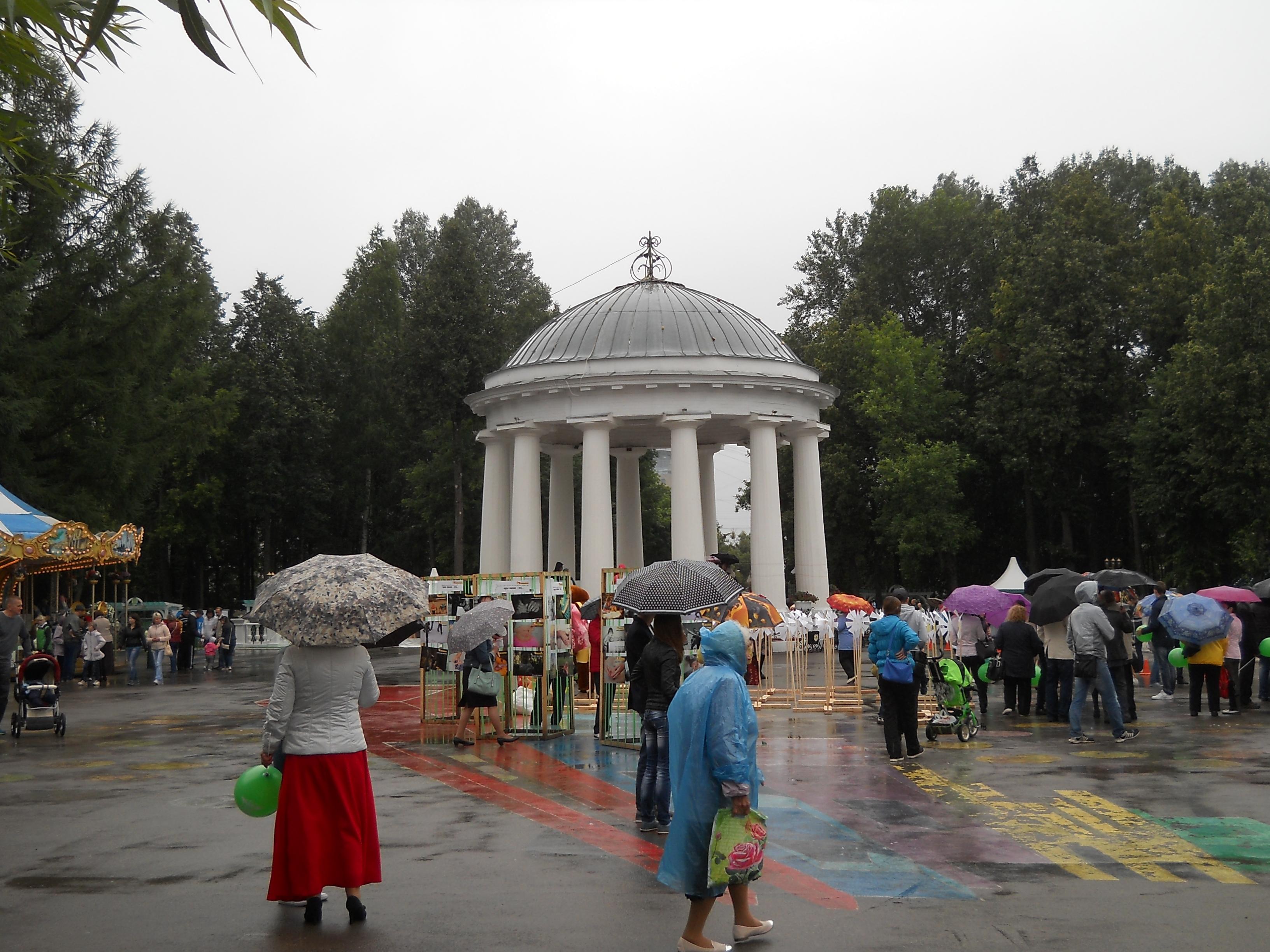 Ввыходные вПермском крае ожидаются дожди игрозы