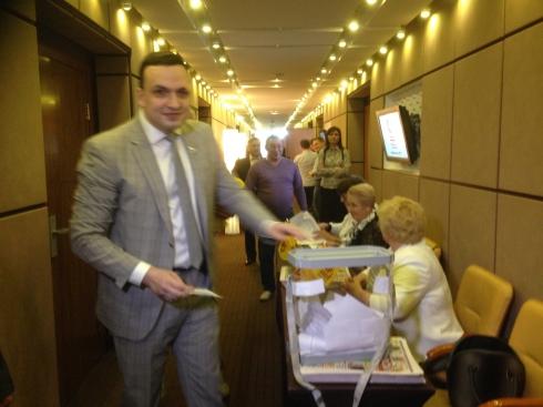 Свердловские эсеры выдвинули в губернаторы Дмитрия Ионина. Кандидат сделал первые заявления