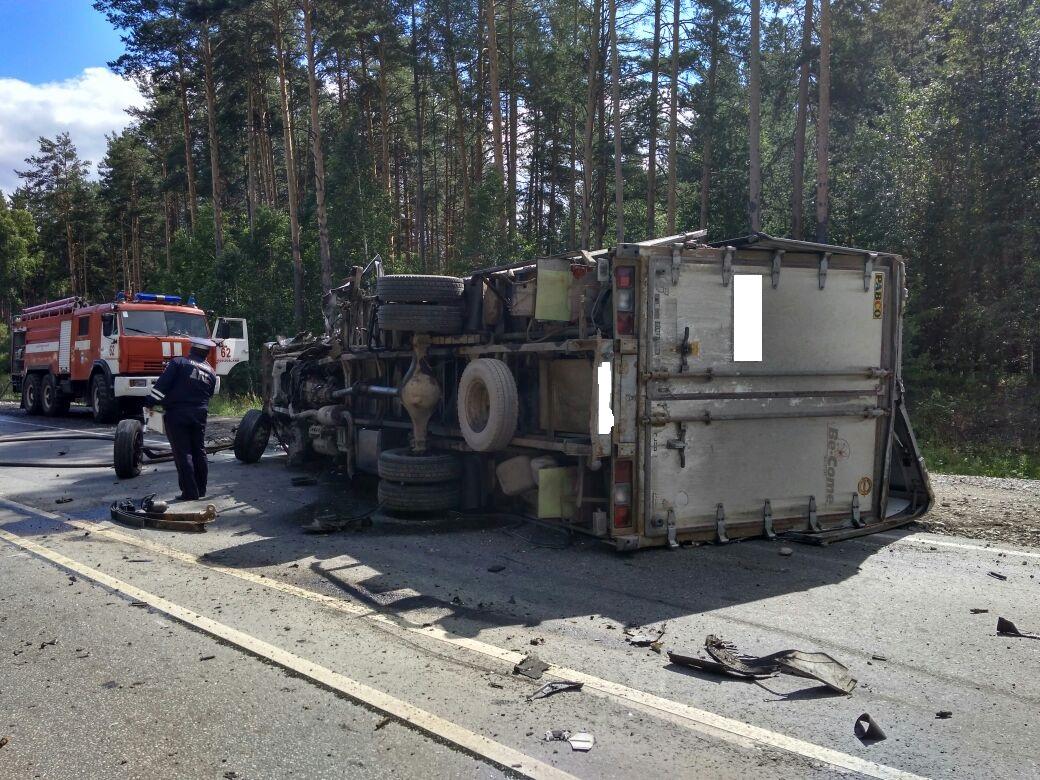 Смертельное ДТП наЕКАД: встолкновении с грузовым автомобилем умер шофёр Кия
