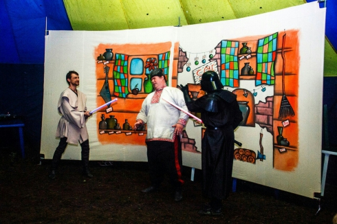 Свердловская общественная палата одобрила спектакль о том, как Дарт Вейдер становится казаком