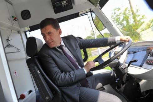 Евгений Куйвашев об электробусах: «Такой транспорт нам необходим»