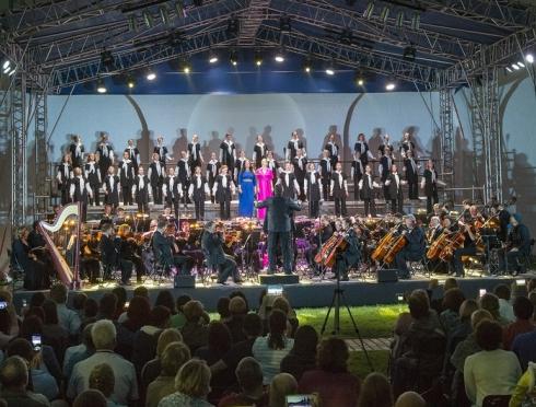 Джаз-хор Свердловской детской филармонии выступил в Ростове