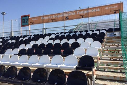 Трибуны домашнего стадиона ФК «Урал» получили названия в честь легендарных свердловских футболистов