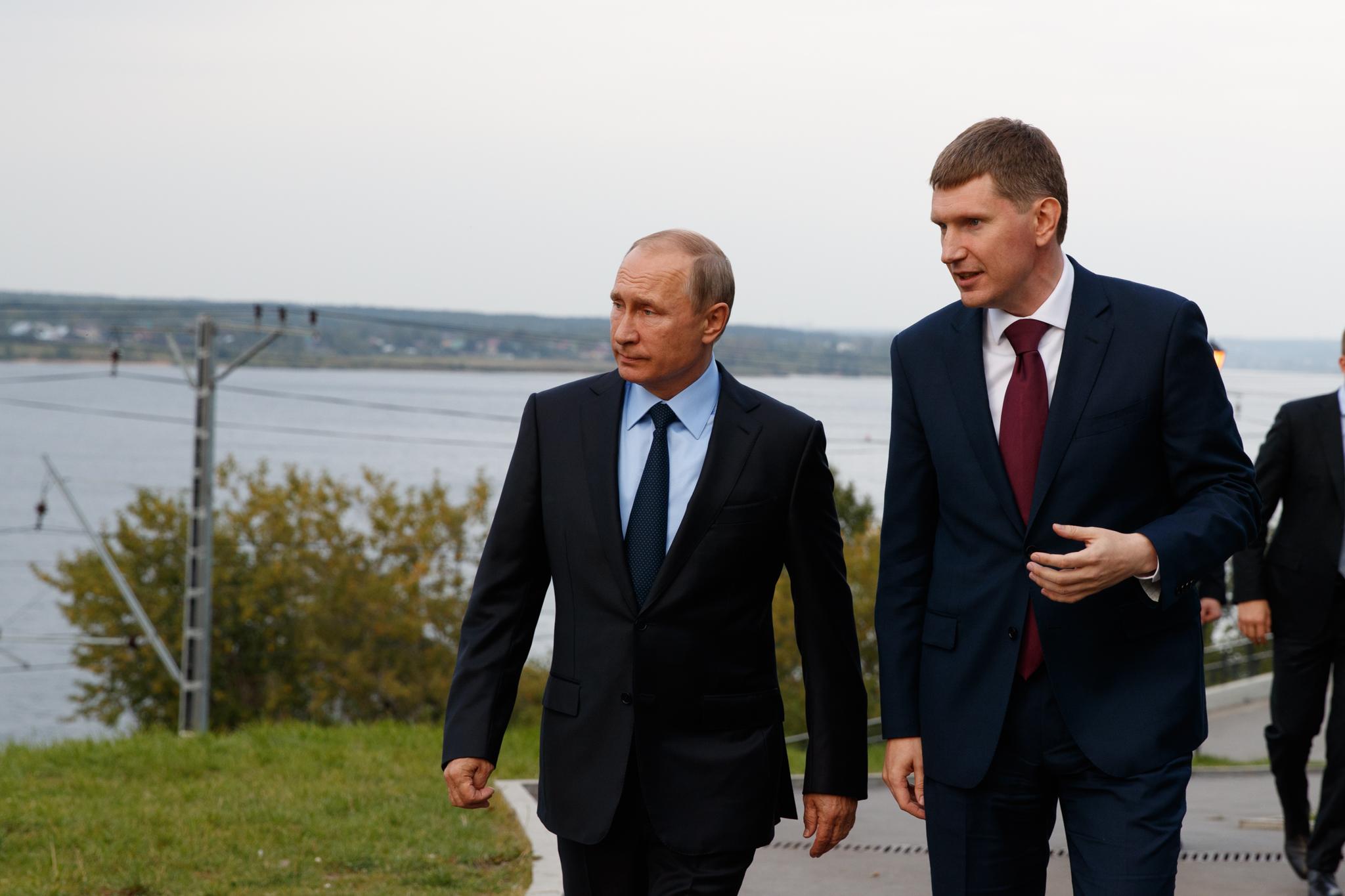 Кприезду Владимира Путина Пермь замаскировали снимком идеальной улицы