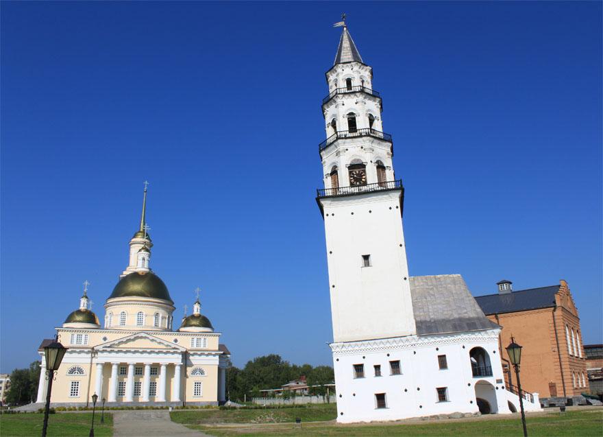 Лидером туристического рейтинга наСреднем Урале стала Невьянская наклонная вышка