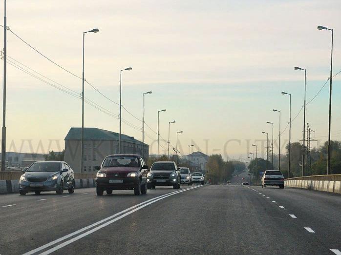 Окончен ремонт дорожного полотна наБурова-Петровском мосту— Мэрия Кургана