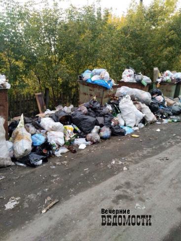Мусор копится и воняет: микрорайон в Белоярке превращается в большую помойку