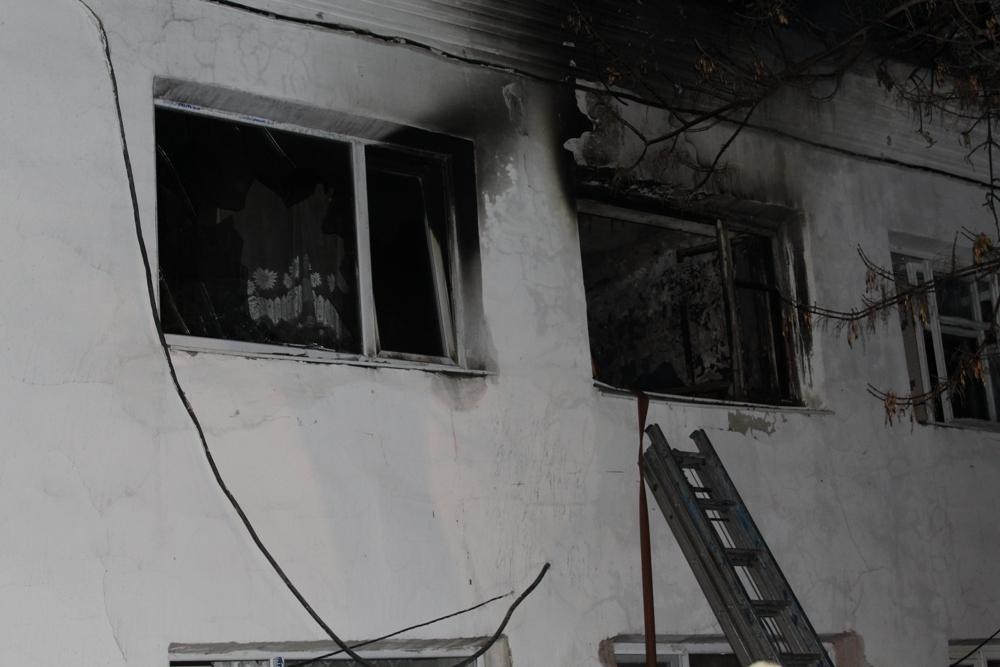 Впожаре вСвердловской области погибли три человека