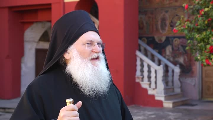 Старик сгоры Афон проведет духовную беседу сжителями Екатеринбурга