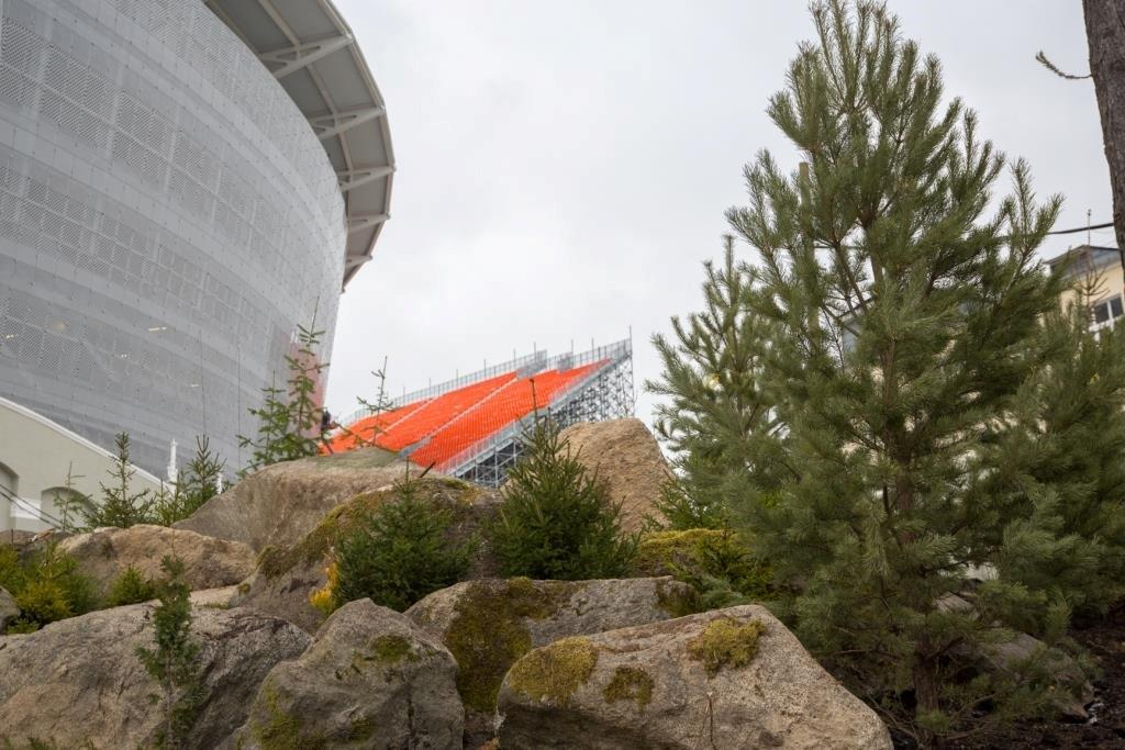 На «Екатеринбург Арене» окончено благоустройство территории