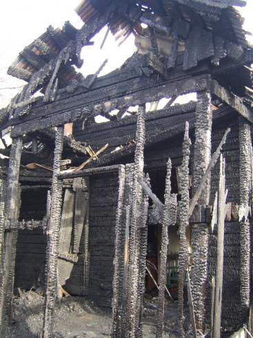 Задержан предполагаемый виновник трагического пожара в Верхотурье