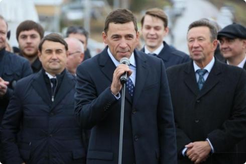 В Свердловской области открыли мост через Транссибирскую магистраль