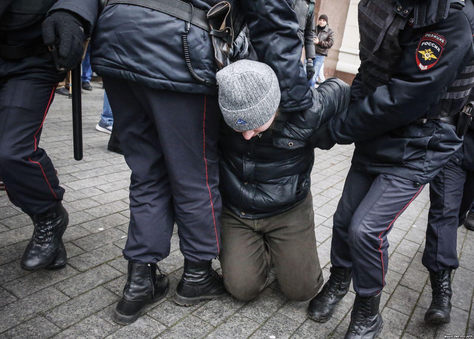 В Москве прошли массовые задержания сторонников Вячеслава Мальцева