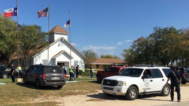 Неизвестный расстрелял прихожан вбаптистской церкви вТехасе
