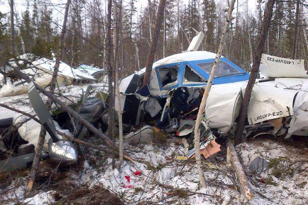 ВХабаровском крае поведали одевочке, выжившей при крушении самолета