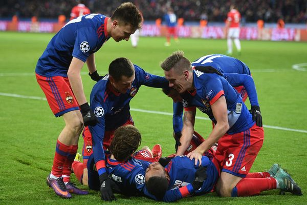 ЦСКА победил «Бенфику» вважнейшем матче Лиги Чемпионов